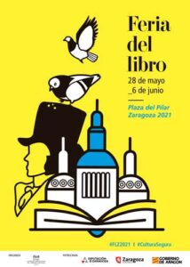 Cartel Feria del Libro de Zaragoza 2021